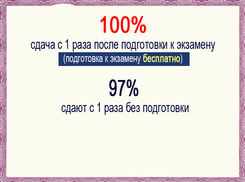 Сертификат о знании русского языка